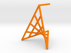 flowerPetal_short (medium) in Orange Processed Versatile Plastic