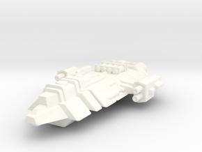 Hyper Freight in White Processed Versatile Plastic