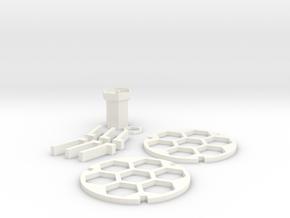 Acute Brain Slice incubation holder in White Processed Versatile Plastic