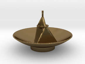 New Horizon's Antenna in Polished Bronze