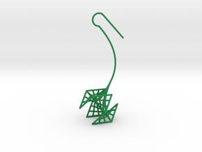 rose (small) in Green Processed Versatile Plastic