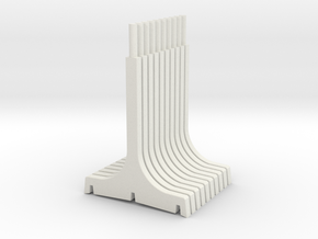 WUS Single Pylon in White Natural Versatile Plastic
