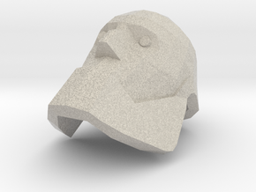 Bot Heavy Head in Natural Sandstone
