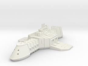 ZD301 Thullzûd Light Carrier in White Natural Versatile Plastic