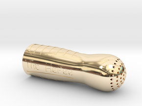 HePee Male Urination Device in 14K Yellow Gold
