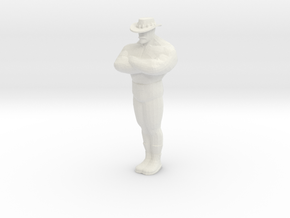 Mini Saxxy in White Natural Versatile Plastic