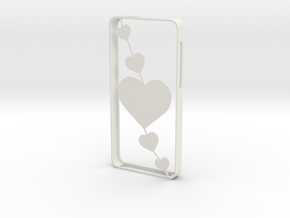 Iphone 5/5s in White Natural Versatile Plastic