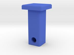 Defender Hitch Cover - Square in Blue Processed Versatile Plastic