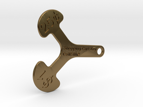 Canadian Cart Key in Polished Bronze