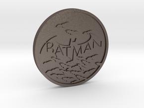 Batman in Polished Bronzed Silver Steel