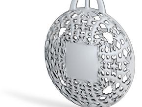 PAh Medalion V2Se87D36h4NULL in Fine Detail Polished Silver