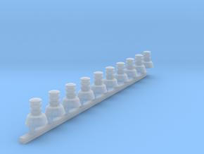 10xAuer Typ2 Doppelstock 1:87 in Smooth Fine Detail Plastic