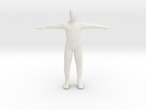 Dummy body in White Strong & Flexible