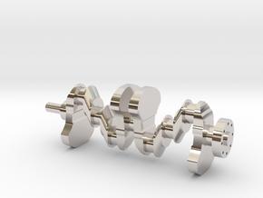 Motor part. crankshaft in Platinum