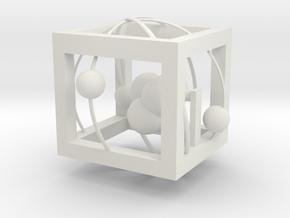 Atom CEN in White Natural Versatile Plastic