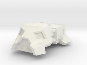 Vagabond in White Natural Versatile Plastic