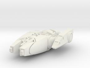 Skimmer in White Natural Versatile Plastic