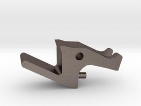 Kc-02 Release L- Type in Polished Bronzed Silver Steel