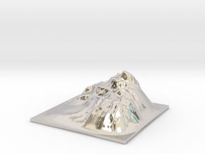 Mountain Landscape 1 in Platinum
