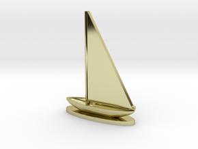 Sailboat in 18k Gold
