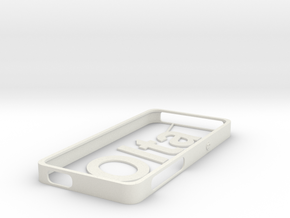 Iphone Personalized (Personalize as you wish) in White Natural Versatile Plastic
