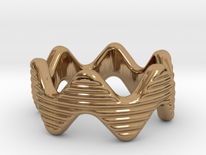 Zott Ring 18 - Italian Size 18 in Polished Brass
