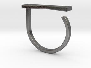 Adjustable ring. Basic model 12. in Polished Nickel Steel