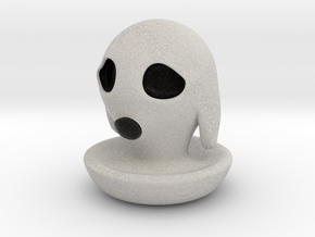 Halloween Character Hollowed Figurine: DoggyGhosty in Full Color Sandstone