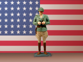 General George Patton 75mm in Smooth Fine Detail Plastic