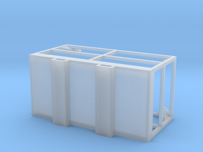 Manbasket 1/64 scale in Smooth Fine Detail Plastic