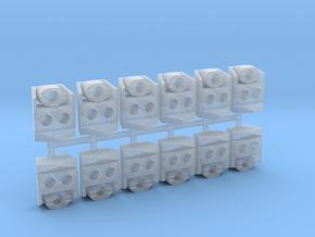 SP Nose Cluster (HO - 1:87) 12X in Smoothest Fine Detail Plastic