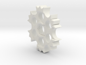 EDrum Rocket Trigger System (Adjuster Wheel) in White Natural Versatile Plastic