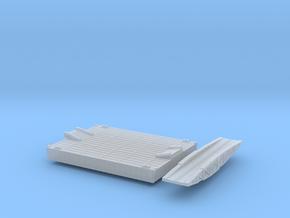 1/600 Intermediate Pontoon And Bridge in Smooth Fine Detail Plastic