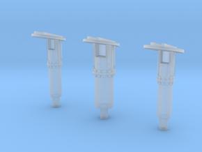 Shuttle MLP Rainbirds 1:144 in Smooth Fine Detail Plastic