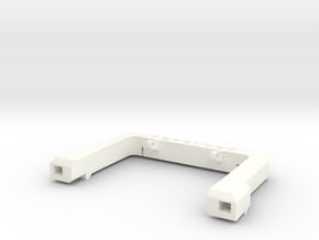 Defender A-Frame Protection Bar - Vanquish in White Processed Versatile Plastic