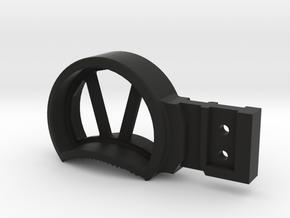 H&K Skeletonized Large (GHK G5 Charging Handle) in Black Natural Versatile Plastic
