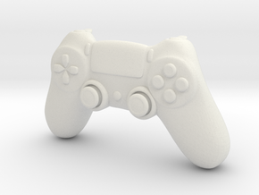 BJD DOLL: PS4 Controller 1/4 msd size in White Natural Versatile Plastic