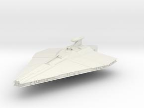 Republic Assault Ship in White Natural Versatile Plastic