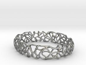 Bracelet Vines  in Raw Silver