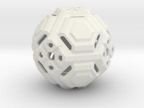 Angular ball in White Strong & Flexible