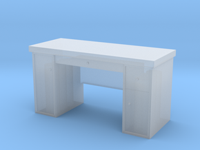 1:35 Scale Desk  in Smooth Fine Detail Plastic