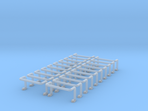 Ladder Rung 20pcs in Smooth Fine Detail Plastic