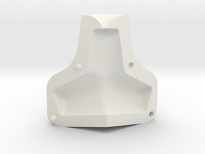 Tetrapod Mould in White Natural Versatile Plastic