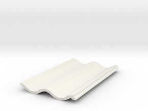 Siding07x12 in White Natural Versatile Plastic