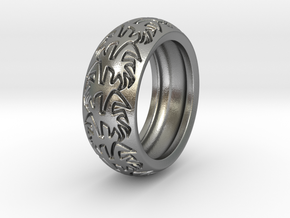 Ray B. - Tire Ring in Natural Silver: 9 / 59