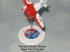 GAAR03 Gee Bee Model R in White Natural Versatile Plastic