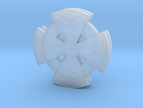Celtic Cross in Smoothest Fine Detail Plastic