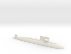 PLA[N] 039A Submarine, 1/2400 in White Natural Versatile Plastic