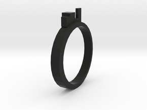 Ring for Kings (19 mm inside diameter) in Black Natural Versatile Plastic
