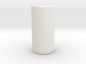 Pin in White Natural Versatile Plastic